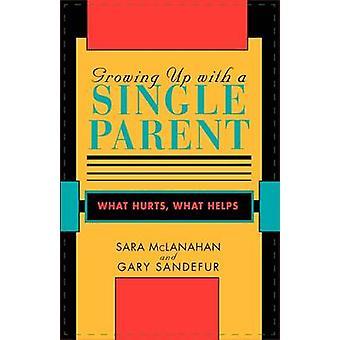 Att växa upp med en ensamstående förälder - Vad gör ont - vad hjälper av Sara S.M