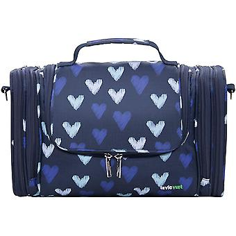 Lavievert Toiletry Bag Makeup Organizer Cosmetic Bag ortable Travel Kit Household Pack Bathroom