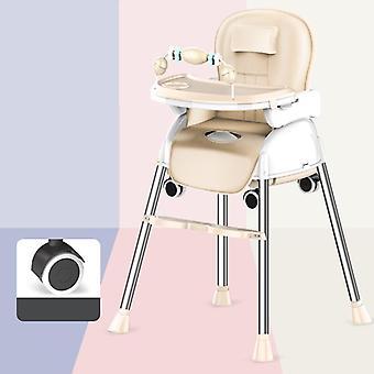 Přenosná skládací dětská jídelní vysoká židle / trona