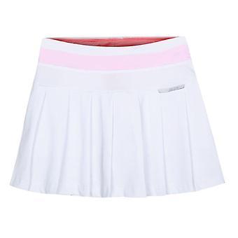 Saia de tênis feminina e plissada com shorts