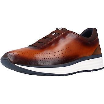 Angel Infantes Sport / Sneakers 23016c Kleur Leer