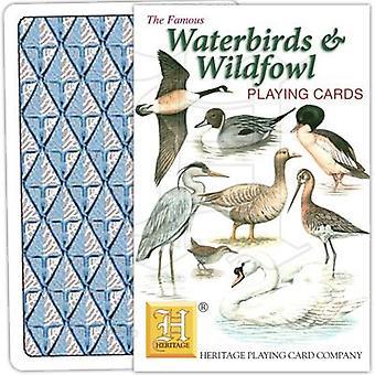 Wasservögel & Wildvögel von Heritage Spielkarten