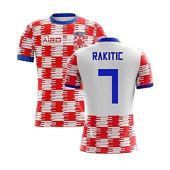 Camisa conceito de casa 2020-2021 croata (Rakitic 7) - Crianças