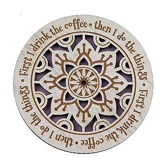 Historia ja heraldia Ensin juon kahvin lasinaluset