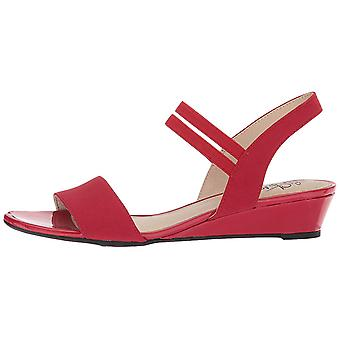 LifeStride Women's Shoes Yolo Fabric Open Toe Casual Ankle Strap Sandals