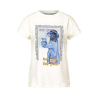 Street One 315956 T-Shirt, Dirty White, 50 Woman