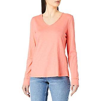 Tom Tailor 1024541 Longsleeve T-shirt, 26200-Stærk Peach Tone, XL Kvinder