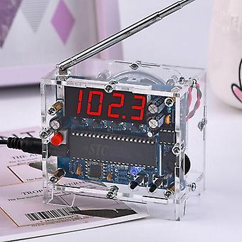 Radio Diy Kit 87mhz-108mhz Mini Tea5767 Fm radiovastaanotin Dc Led Digital