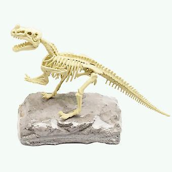 Diy דינוזאור מסגרת ארכיאולוגיה ביולוגיה סימולציה צעצועים מדע ערכות קישוט פארק שעשועים