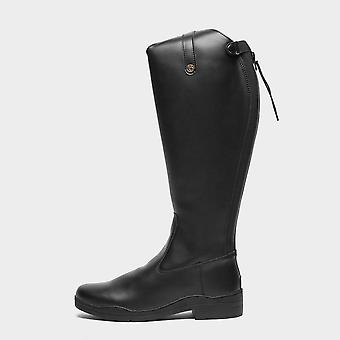 New BROGINI Women's Moderna Synthetic Dress Riding Boots Black