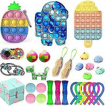 30 stuks Fidget Toys Kit verlicht stress zintuiglijk