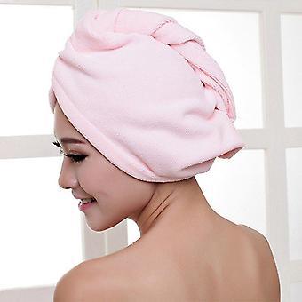 Diffuser Superfine Fiber Bath Hair Dry Hat Shower Cap
