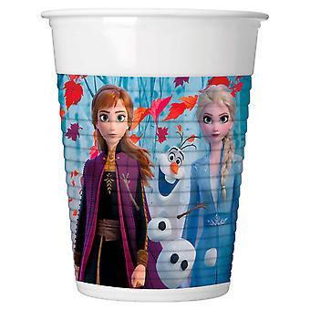 Disney Frozen 2 Cups, 8Pc.