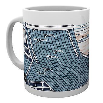 Godzilla Rooftops Mug