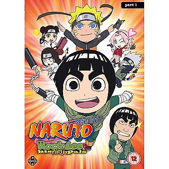 Naruto: Rock Lee and His Ninja Pals Collection 1 (Episodes 1-26) DVD