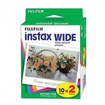 Fuji Instax Wide Picture Format Film Pack de 10 feuilles x2 pour 210 300