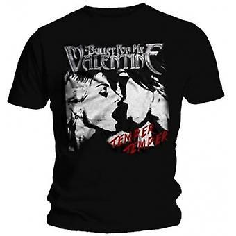 BFMV Temper Temper Kiss Black T Shirt: X Large