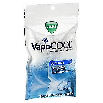 Vicks Vicks Vapocool Medicated Drops Cool Blue, 20 Each