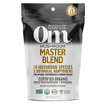 Organic Mushroom Nutrition Mushroom Master Blend, 3.2 Oz