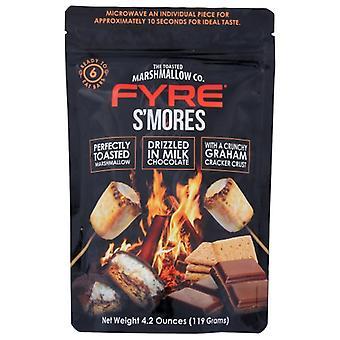 Fyre Smores بار شوك سمور Rdy لتناول الطعام، حالة من 12 × 5.1 أوقية