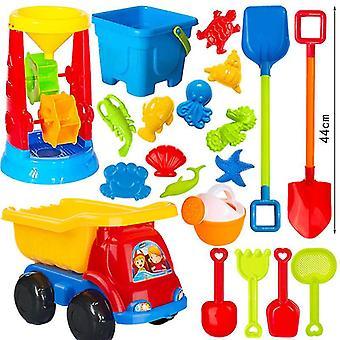 Brinquedos de praia para crianças e jogo de água de areia carrinho crianças sandbox define kit brinquedos de verão para o bebê