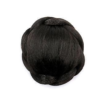 Spiral Roll Hair Bun Wig Ponytail Hair