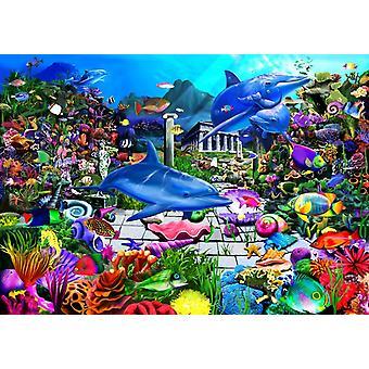 Bluebird Lost Undersea World Jigsaw Puzzle (1000 Pieces)