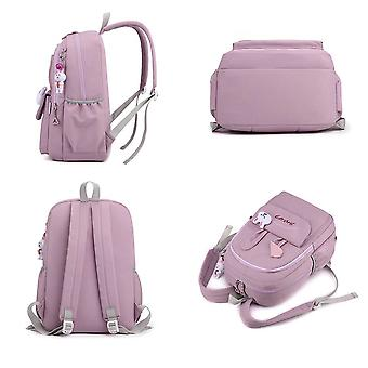 Cute Backpack, Classic Bookbag Water Resistant School Backpacks for Teen Girls, Women