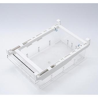 Kitchen Refrigerator Transparent Organizer Bin Storage Box Compartment Refrigerator Drawer Fridge