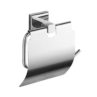 Salle de bains Copper Wall-mounted Tissue Holder Stainless Steel Paper Towel Rack Toilet Paper Holder Paper Roll Holder Tissue Organizer For Home