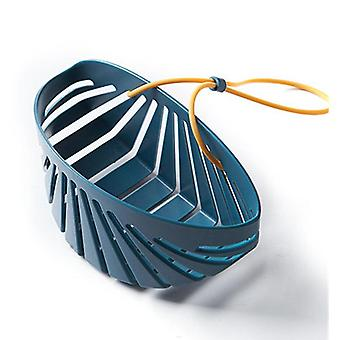 3Pcs Sink rack soap sponge drain rack silicone storage basket bag faucet rack adjustable bathroom