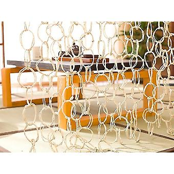 Room dividers bamboo and rattan handicraft hanging straw curtains