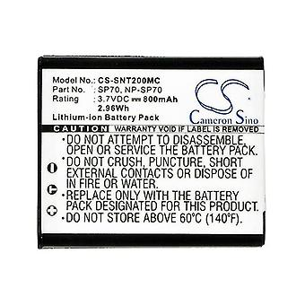Cameron Sino Snt200Mc Battery Replacement For Sony Camera