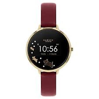 Radley Rys03-2006 Black Dial Leather Strap Ladies Smart Watch