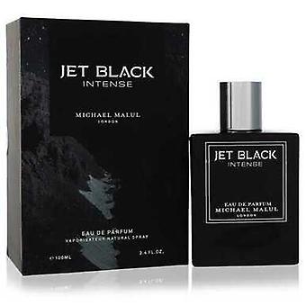 Jet Black Intense By Michael Malul Eau De Parfum Spray 3.4 Oz (men)