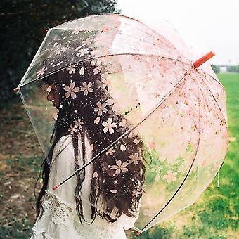 ילדים מטריה חד קרן שקוף מטריות ילדים מטריה לייזר חמוד קריקטורה ילדה אלפקה מטריות סאקורה dropshipping