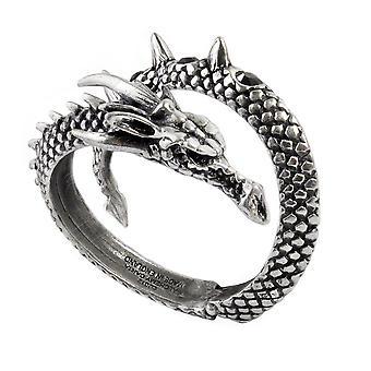 Alchemy Gothic Vis visum Dragon Wrap tenn armband