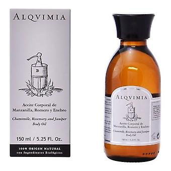 Kroppsolja Alqvimia Camomille Enbär Rosmarin (150 ml)