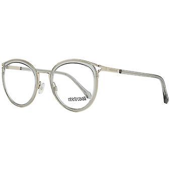 Marcos ópticos de plata para mujeres awo23687