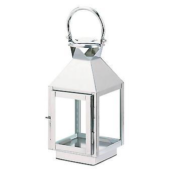 Galleri av ljus rostfritt stål klassisk ljuslykta - 12 inches, Pack of 1
