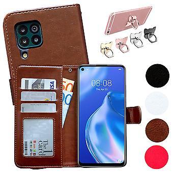 Huawei P40 Lite - Étui en cuir / Protection