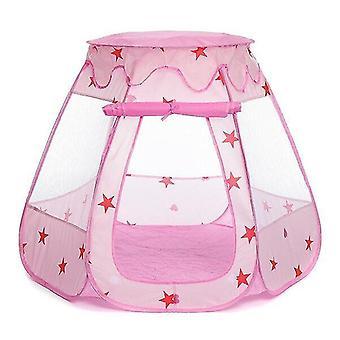 遊ぶテントトンネル子供の赤ちゃんテントオーシャンボールピットプール遊び屋子供のおもちゃピンク