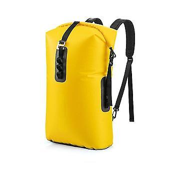 28L extérieur imperméable à l'eau sac sec séparation humide pochette amovible voyage de camping