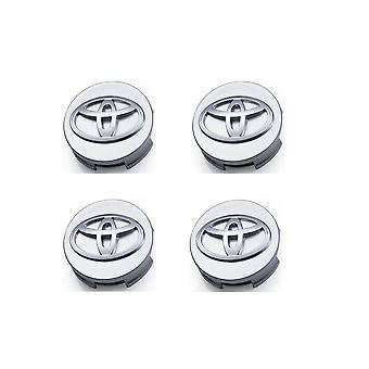 Couvercle central de roue 4 60mm - Couvercle de moyeu pour emblème de logo de badge Toyota
