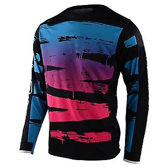 2021 New Men's Downhill Jerseys Mountain Bike MTB T Shirts Offroad Dh Motorcycle Jersey Motocross Sportwear Racing Bike T-shirt