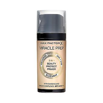 New Max Factor Miracle Prep 3in1 Beauty Protect Primer SPF30 30ml