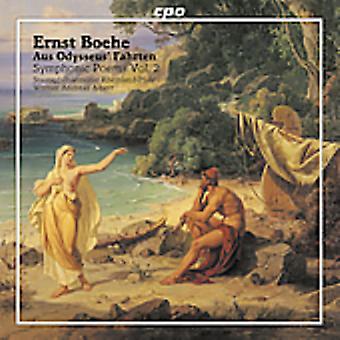 E. Boehe - Ernst Boehe: Aus Odysseus' Fahrten, Symphonic Poems Vol. 2 [CD] USA import