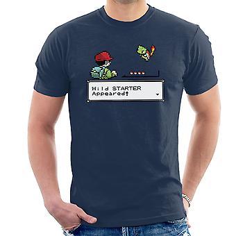 Wild Starter Pokemon Men's T-Shirt