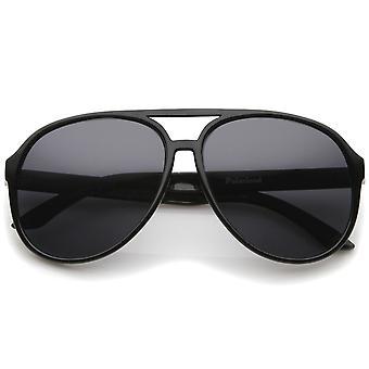 Retro-große schützende polarisiert Sonnenbrille in Pilotenform Objektiv 60mm