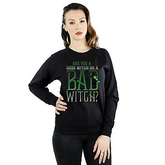 The Wizard Of Oz Women's Good Witch Bad Witch Sweatshirt